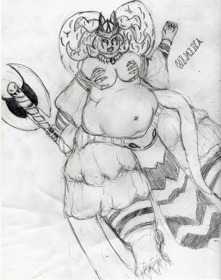 BBW Himika sama by PureIvel