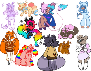 ocs that ill never use [open] by rotttkid