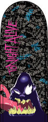 Tonight Alive Soul Eater Skate Deck by OnyX-TiTaNiuM