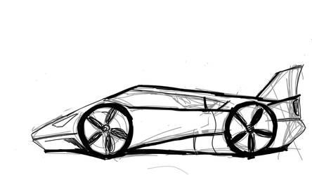 Car designing - Sea Slicer Vr. 1 by paulocastelo