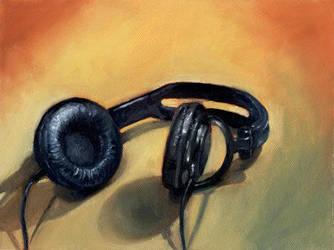 Headphones by linranae