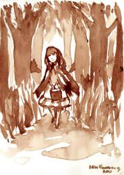 Little Red Riding Hood by Khaerii