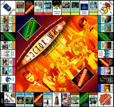 Doctor Who Monopoly by raisegrate