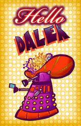 Hello Dalek by raisegrate