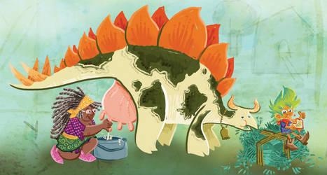 Stegcowsaurus by raisegrate