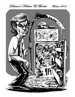 Dahmer's Kitchen Of Murder by mickmoart