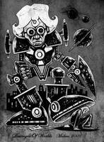 Destroyer Of Worlds by mickmoart