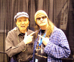 ME AND JAMES HONG! by mickmoart