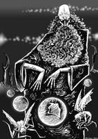 Prophet In Darkness by mickmoart
