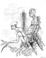 Triad Of Divinity by mickmoart