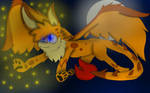 FireFli the Dragon by Orangenotepad67