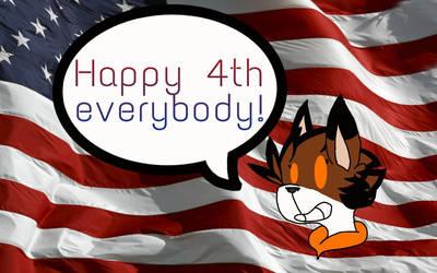 Happy 4th by Orangenotepad67