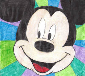 Mickey Mouse by maribeth8D