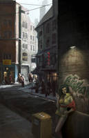 Hard Luck Woman by digital404