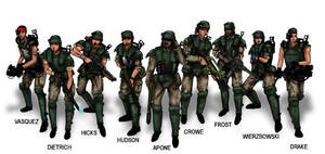 Colonial Marines by opteryx