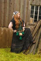 Bohemian gypsy country lass by NightPhoenixFire