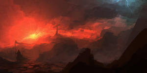 Speedpaint - Fire and light by ANTIFAN-REAL