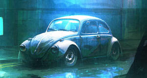 Speedpaint - Neglected Beetle by ANTIFAN-REAL