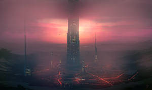 Speed Paint - Crater City by ANTIFAN-REAL