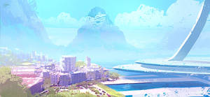 City Speed painting - 25 mins. by ANTIFAN-REAL