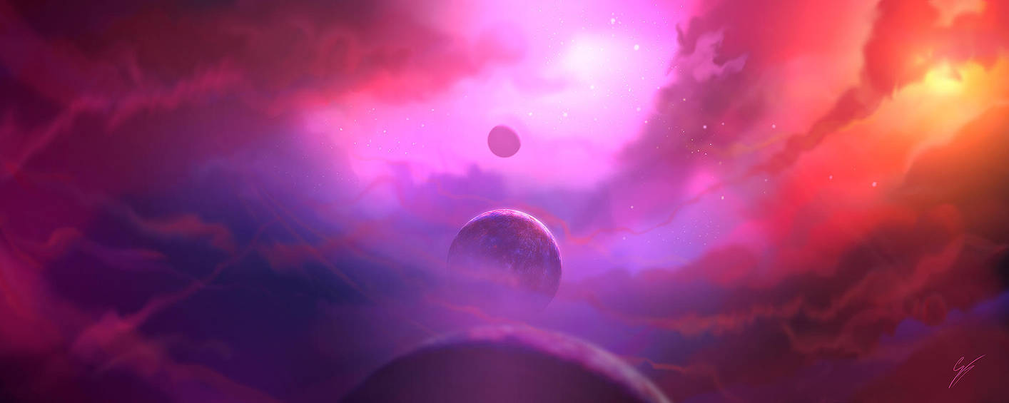 Speed painting - Syzygy by ANTIFAN-REAL