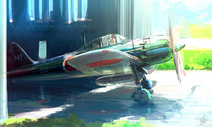 SP - Mitsubishi Zero Fighter by ANTIFAN-REAL