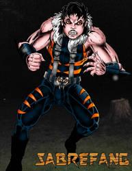 Sabrefang Son Of Sabretooth: Primal Hunt!!!! by Joel-Cevallos