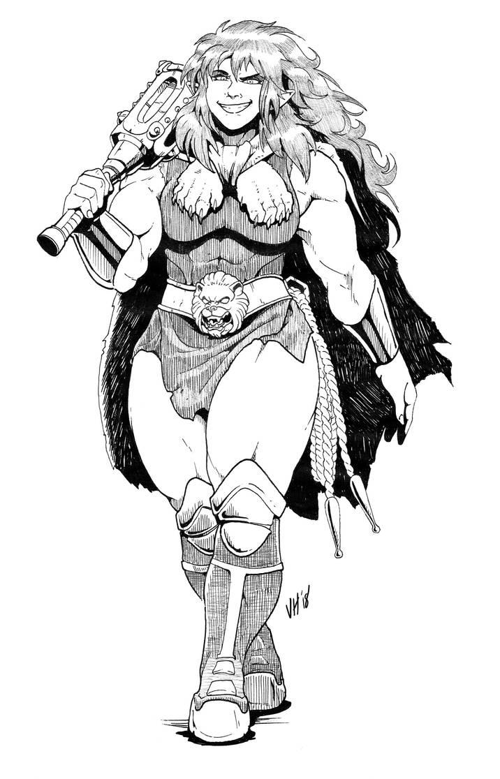 Heather The Fury Of Olympus by Joel-Cevallos