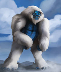 Blizzard Noble Beast God Of Cold And Strength by Joel-Cevallos