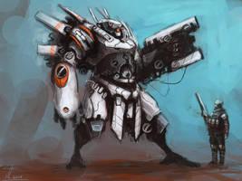 Kestrel War Suit by Naznamy
