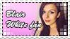 Blair White fan stamp by koimonster22