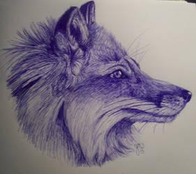 Inky Fox by Edendari