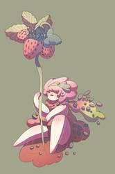 Strawberry Girl by SilviaVanni