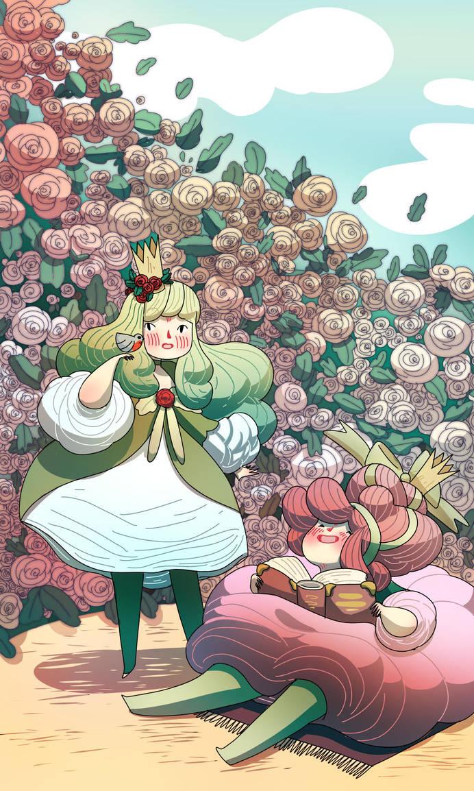 Princesses by SilviaVanni