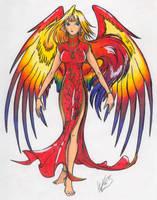 Red Phoenix Suzaku by ShokokuPhoenix