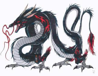 Black Dragon Takarabria, ver.2 by ShokokuPhoenix