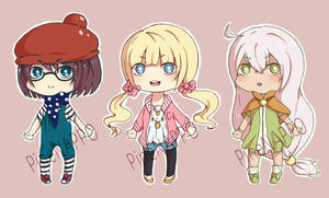 Chibi Batch 1 (OPEN) by PineNAPPO