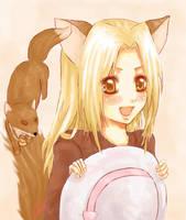 Natsume yuujinchou-little fox by Haro-chan