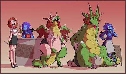 CMSN - Dragon's hoard by JamsnJellies