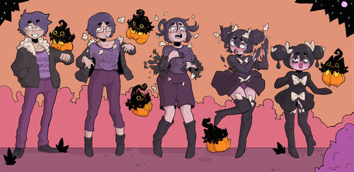 Commission - Spookemon by JamsnJellies