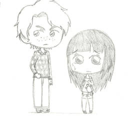 SCP - Aidan and Annie by aisha-sama