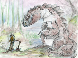 Train your Dragon by Warly