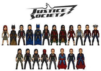 Justice Society of Hogwarts by AnderPotter1937
