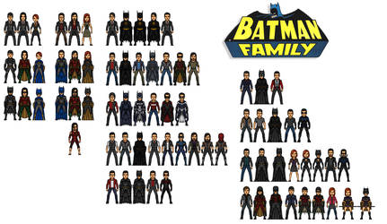 Potter Family (Batman Family) by AnderPotter1937