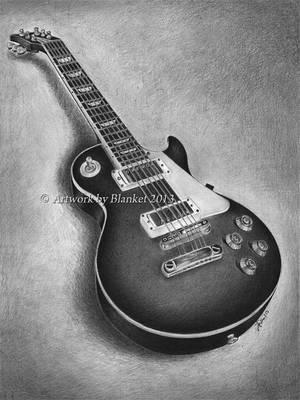Les Paul GUITAR by blanket86