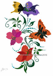 FLOWERS by blanket86