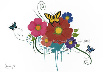 FLOWERS 2 by blanket86