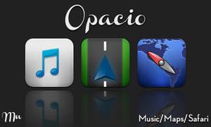 WIP Opacio Music, Maps, Safari by MitchNied
