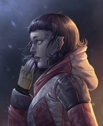 Mutant Girl by SigneRJArts