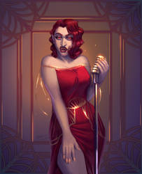 Lorena Songbird by SigneRJArts